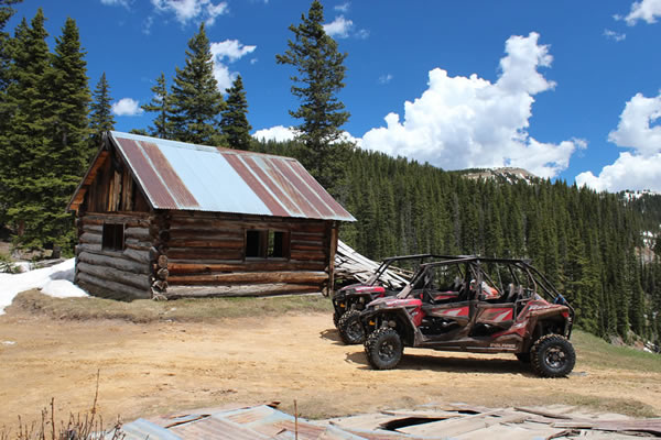 Durango RZR UTV Rentals - Explore Durango's high-country with a 4x4 RZR UTV Rental